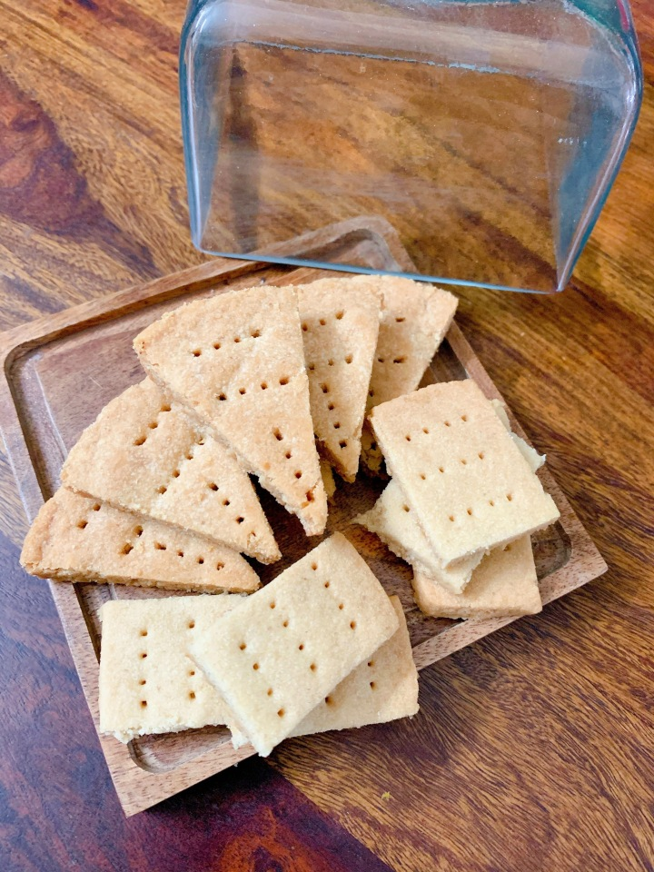 Scottish Shortbread (3 ingredients)